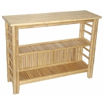 Bamboo Fancy Console Table 46x15x34