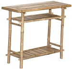 Bamboo Hallway Table 35x14.5x30.5