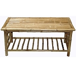Bamboo Coffee Table 42x23.5x18
