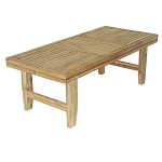 Bamboo Folding Coffee Table 48x21x17.5