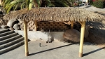 7ft. x 14ft. Oval Palmex Synthetic Palm Tiki Hut/Palapa - 4 Posts