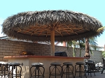 16 Foot Mexican Palm Palapa Kit - Round