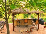 12ft. x 12ft. Square Palmex Synthetic Palm Tiki Hut/Palapa - 4 Posts