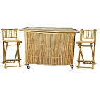 Bamboo Tiki Bar 3pc. Set