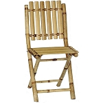 Bamboo Folding Chairs (set 2)