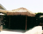 12ft. x 12ft. Square Mexican Palm Tiki Hut/Palapa - 4 Posts