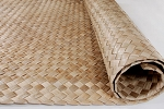Lauhala Natural Matting 4 feet x 8 feet - Sizes are not exact and will vary sometimes up to 6 inches