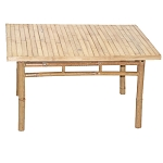 Low Bamboo Square Table 35x35x19