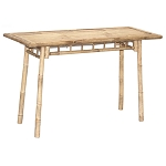 Narrow Bamboo Table 46x18.5x29