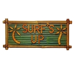 Surf's Up Bamboo Sign 10x20
