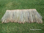 Tahitian Palm Thatch Palapa/Tiki Hut Roofing Panel/Shingle - 3'x2' Feet