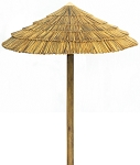 7 Foot Synthetic African Reed Palapa Kit - Round