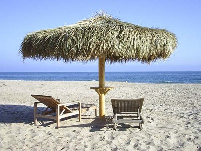 12 Foot Mexican Palm Palapa Kit - Round