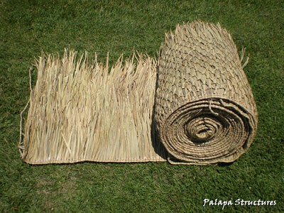 2.5x60 Foot Mexican Palm Thatch Palapa/Tiki Hut Roofing