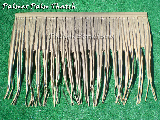 Synthetic Thatch Panel