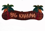 Big Kahuna Palm Tree Sign