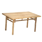 Rectangular Bamboo Table 35x24x23
