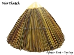 Viro Reed Round Synthetic Thatch Top Cap - 32 inch Diameter