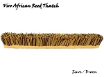 Viro African Reed Eave/Broom, 31 In x 4 In