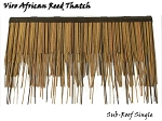 Viro African Reed Subroof Shingle, 30 Inch x 18 Inch