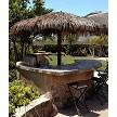 Option Example: 12' Palmex Synthetic Thatch Palapa