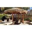 14ft Round Mexican Palm Palapa/Tiki Hut