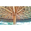 16ft Mexican Palm Palapa (1/2 inch rope option shown)