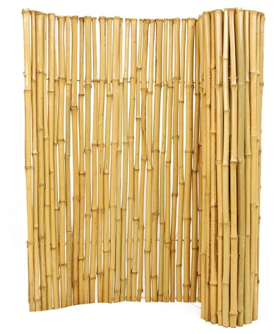 1x3x8 Bamboo Rolled Fencing