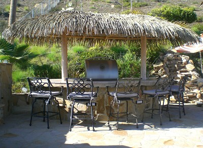 9x18 Palmex Synthetic Thatch Palapa
