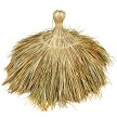 Tahitian Palm Thatch Round Top Cap