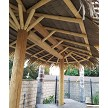7x14 - 2 Pole Palmex Synthetic Thatch Palapa (same basic framing as African Reed)