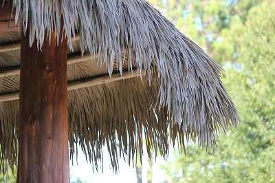 Viva Palm Thatch Installation Example