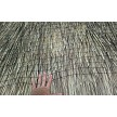 Option Example: Thatch Save Net Closeup Over Mexican Palm Thatch
